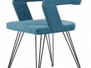 Καρέκλα Τραπεζαρίας σιελ